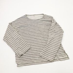 Madewell Striped Crewneck Sweater/Top
